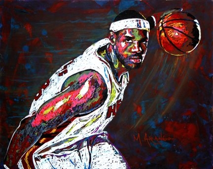 LeBron James par MArango